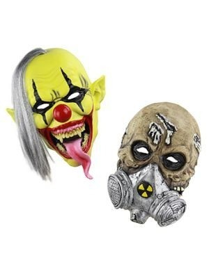 Scary Rubber Head Masks
