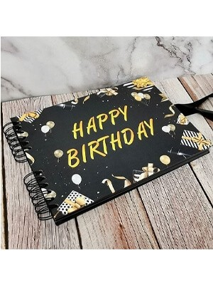 Birthday Guestbooks & Photo Albums