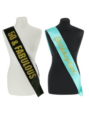 Birthday Sashes & Badges