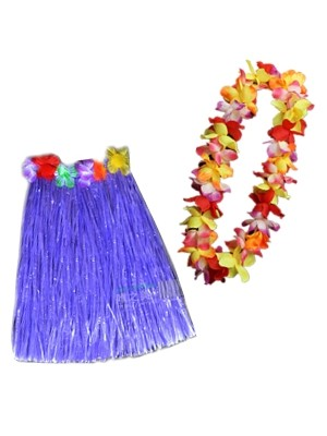 Hawaiian Lei & Skirts