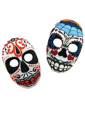 Mexican Day of Dead Masks