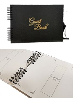 Printed Page Guest Books