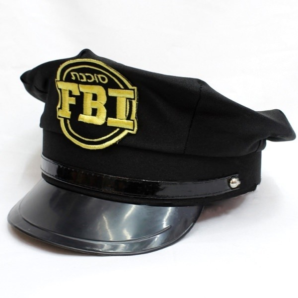 FBI Cap - Funny Hats - Hats   Wigs 230b1881aa1