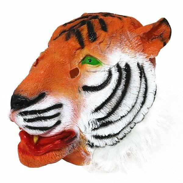 sc 1 st  Photo Booth Props & Fancy Dress Costume Tiger Head Mask