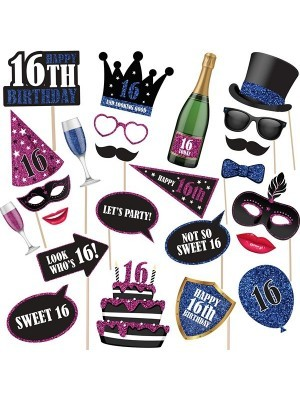 16th Birthday High Quality Props On Sticks