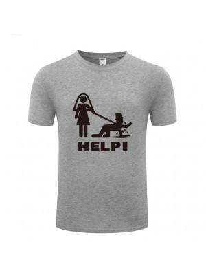'Help!' Stag Night T-shirt