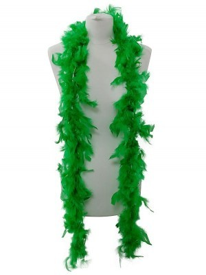 Beautiful Green Feather Boa – 50g -180cm