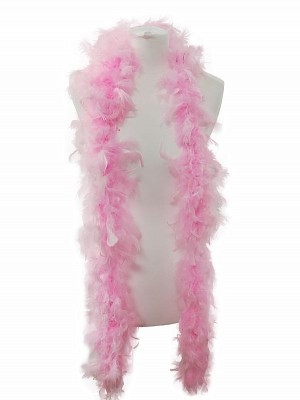 Beautiful Light Pink Feather Boa – 50g -180cm