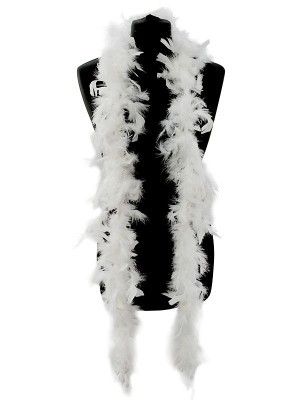 Beautiful White Feather Boa – 50g -180cm