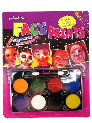 8 Colour Face Paint Palette