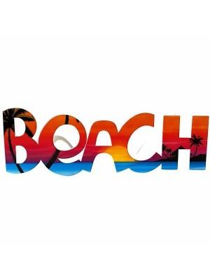 'BEACH' Word Framed Sunset Glasses