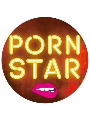 'Porn Star' Circle Word Board Photo Booth Prop