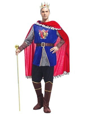 Adult Royal King Fancy Dress Costume