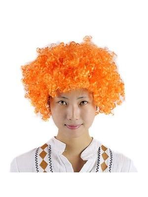 Afro Wig Orange