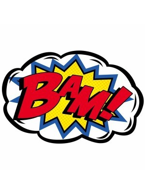 'Bam!' Pop Art Style Photo Booth Prop