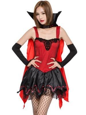 Batty Vampire Fancy Dress Costume