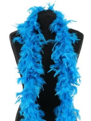 Beautiful Bondi Blue Feather Boa – 50g -180cm