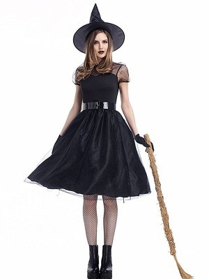 Dark Witch Women's Halloween Fancy Dress Costume