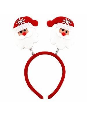 Budget Red Santa Claus Christmas Headband