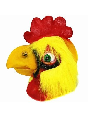 Fancy Dress, Costume Chicken Head Mask