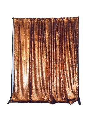 Copper Gold Sequin Backdrop