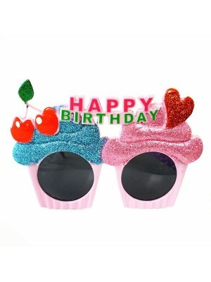 Happy Birthday Cup Cake Sunglasses