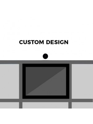 Custom 'Look Here' Front Panel Size – 1192 (w) x 569 (h) mm