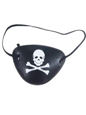 Pirate Skull and Crossbones Eye Patch