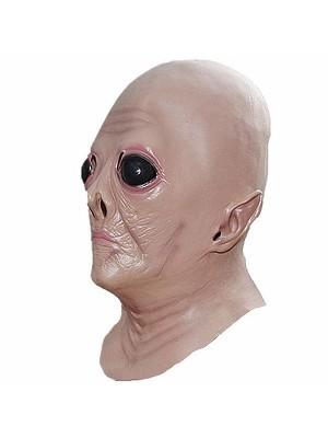 Creepy Alien Head Mask Halloween Fancy Dress Costume