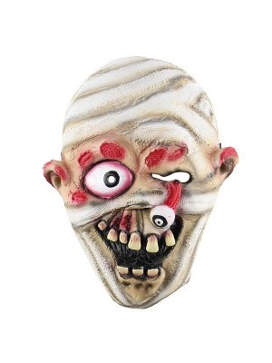 Fancy Dress, Costume Bandage Mummy Zombie Mask