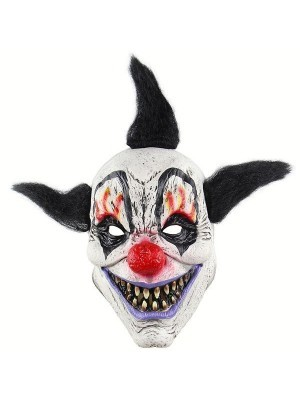 Fancy Dress, Costume Crazy Jester Clown Mask