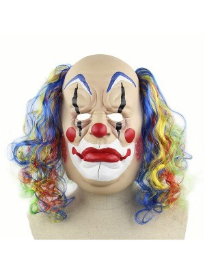 Fancy Dress, Costume Grumpy Clown Mask