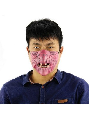 Fancy Dress, Costume Half Wizard Face Mask