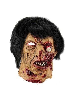 Fancy Dress, Costume Latex Rotten Monster Head Mask