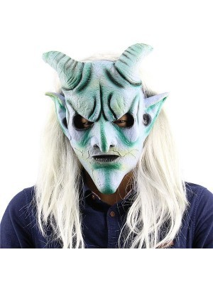 Fancy Dress, Costume Old Demon Devil Mask