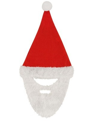 Father Christmas Hat and Beard