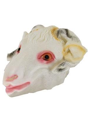 Fancy Dress Costume Goat Head Mask Props