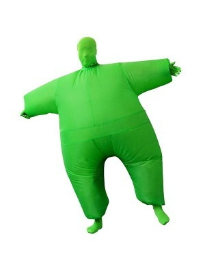 Green Mega Morph Inflatable Sumo Suit Fancy Dress Costume