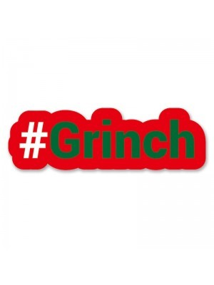 #Grinch Trending Hashtag Oversized Photo Booth PVC Word Board Sign