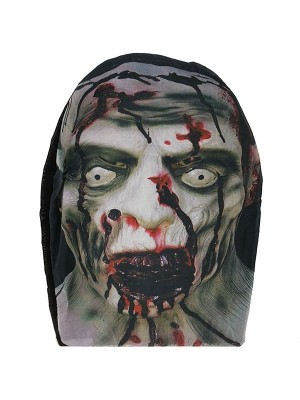 Halloween Fancy Dress Costume Dead Head Morph Mask Full Head Sock
