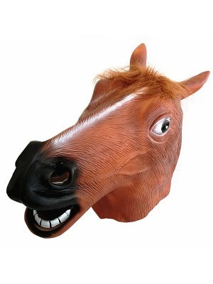 Fancy Dress, Costume Horse Head Mask