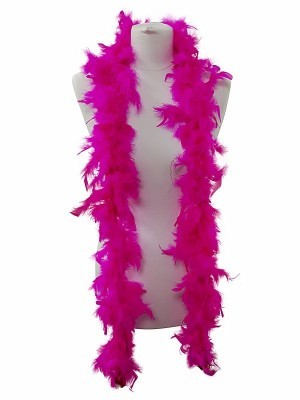 Beautiful Hot Pink Feather Boa – 50g -180cm