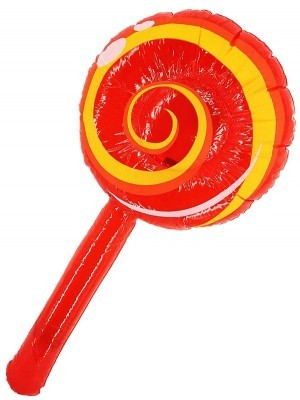 Giant Inflatable Red Lollipop