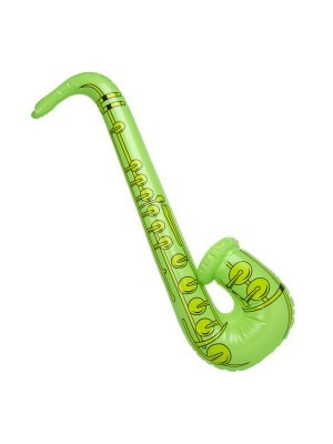 Inflatable Saxophone Green