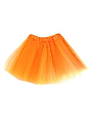 Kids Tutu Skirt - Orange