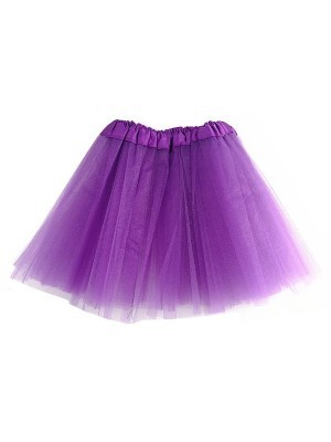 Kids Size Purple Tutu Skirt