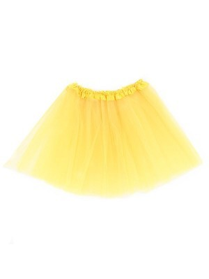 Kids Size Yellow Tutu Skirt
