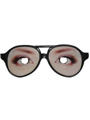 Ladies Long Lash Funny Eye Glasses