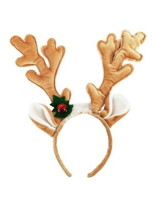 Light Brown Reindeer Antlers Headband