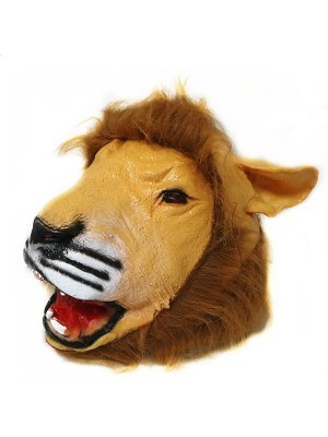 Fancy Dress, Costume Lion Head Mask
